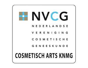 Logo Cosmetisch Arts KNMG NVCG